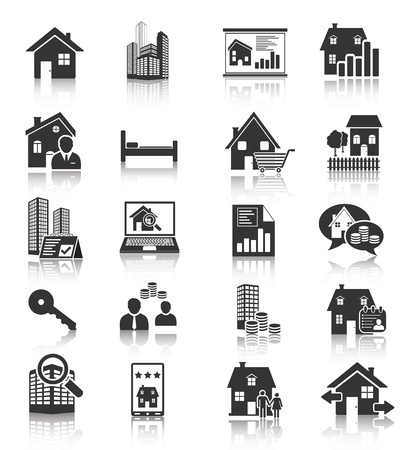house icon: Real Estate Icons