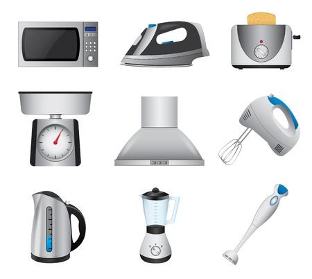 blender: Home appliances Illustration