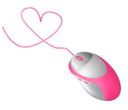 사랑 컴퓨터 마우스