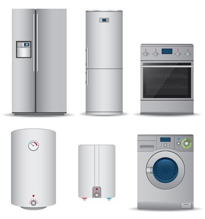 geladeira: Jogo de aparelhos electrodom
