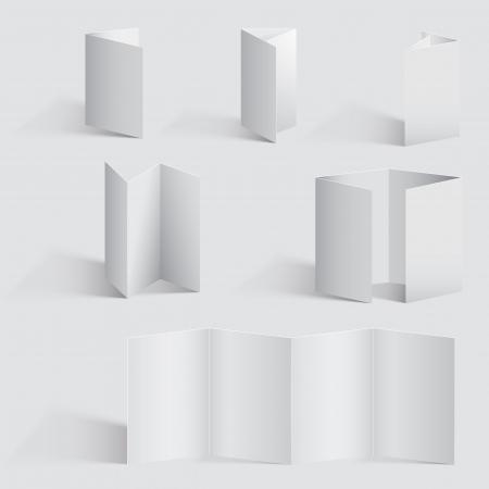 blank canvas: Vector Brochure