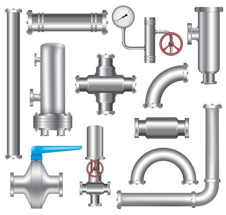 Lments de pipeline Banque d'images - 23112376