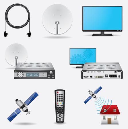 telecast: Satellite TV system
