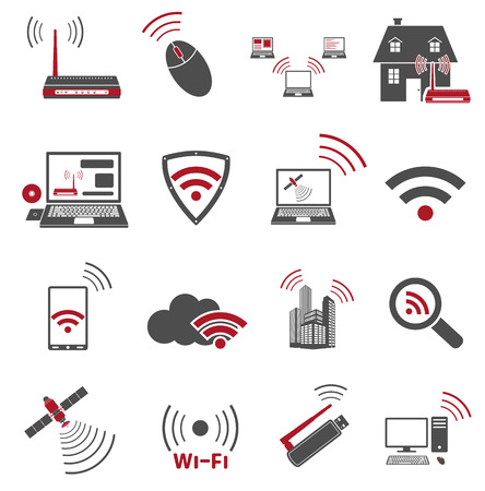 signal strenght: Communication web icons
