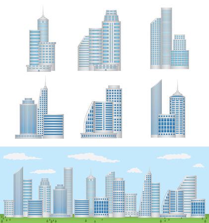 Vector Buildings Illustration