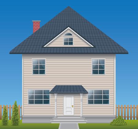 주택의 외관