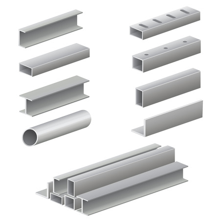 steel: Metal profile and tubes