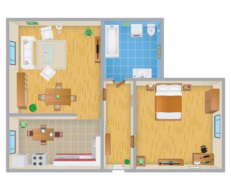 planen: Wohnung Plan