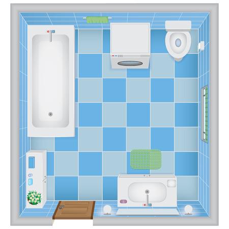 cross section: Bathroom Interior