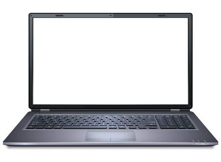 Realistic Laptop  イラスト・ベクター素材