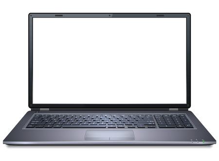 Realistic Laptop Vettoriali