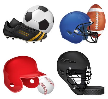 Sport Icons Set Ilustracja
