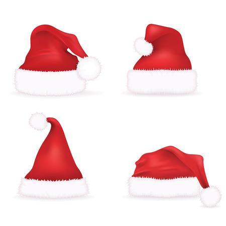 kapelusze: Santa kapelusze Set