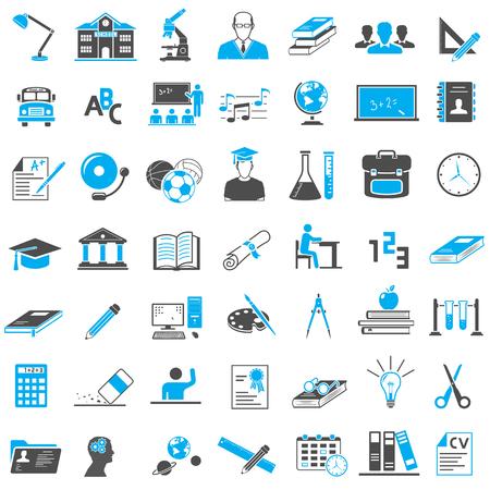 Educación Icon Set