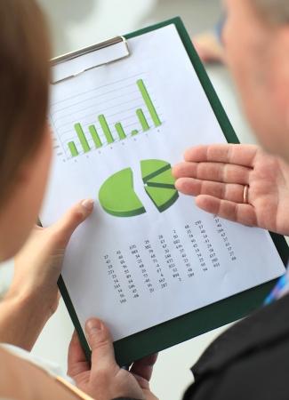 financial assets: Stock market graphs monitoring