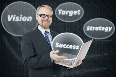 Keywords to Success Stock Photo