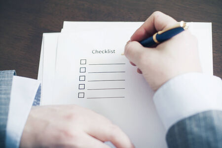 Filling Tasks to Checklist photo