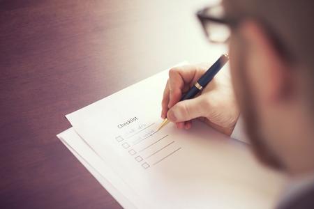 Filling Tasks to Checklist photo