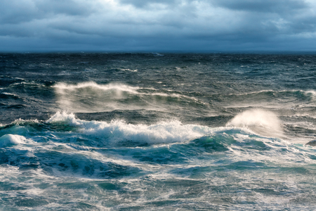 gale: Near Gale Winds Sweeping Sea