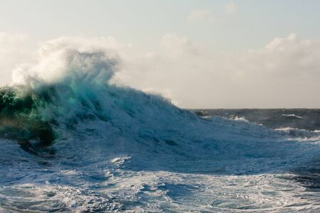Huge Wave Crashing Down