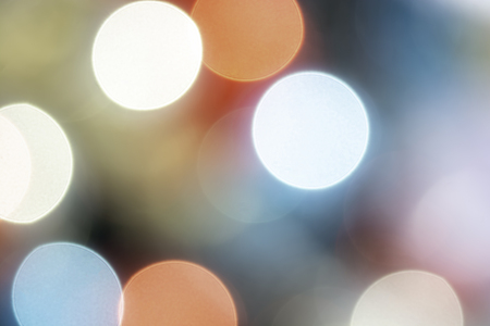 Colorful circles of light abstract background and wallpaper, Defocused bokeh lights, Festive unfocused, Foto de archivo - 115673776