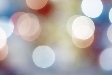 Colorful abstract background with pastel bokeh lights for background and wallpaper, Defocused light, Festive unfocused backdrop. Foto de archivo - 115675630