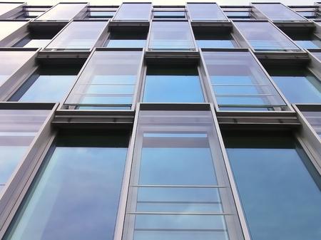 futuristically: Modern Building Cologne  Stock Photo