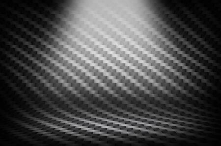 dark fiber: Carbon fiber texture backdrop with light spots