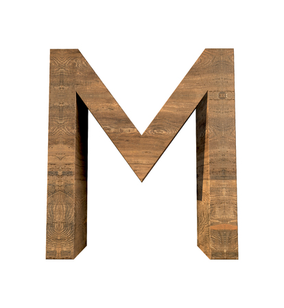 Wood letter, Alphabetic character