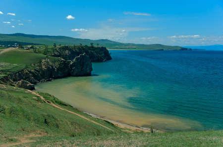 Shore of Lake Baikal, Olkhon Island, Russia
