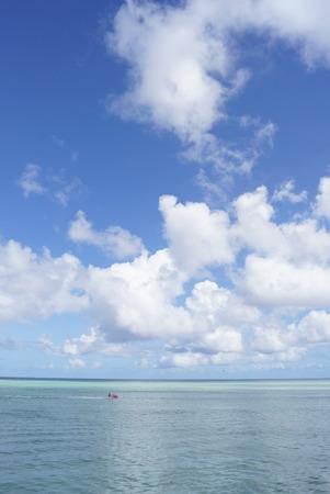 Himmel und Emerald Sea