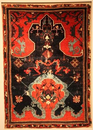 oriental rug: Oriental rug