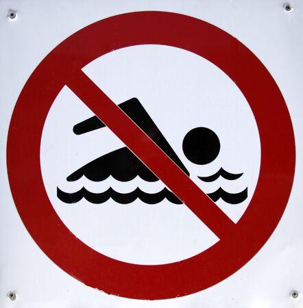 prohibido: Piscina Prohibido Entrar