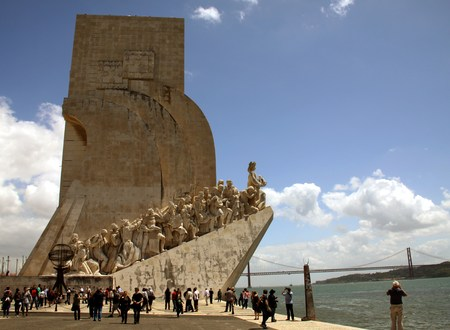 discoveries: the Monument to the Discoveries Lisbon