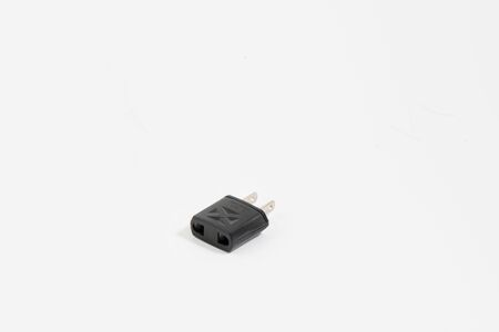 female connector: Plug with white background texture for agency