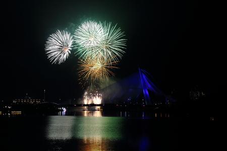 Putrajaya Bridge Firework photo