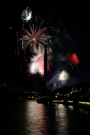 Putrajaya Monument Firework photo