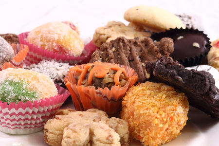 Tradtional Malay Cookie Imagens
