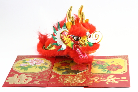 envelop: Chinese New Year Dragon and gift envelop