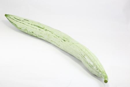 gourd: Snake Gourd Stock Photo