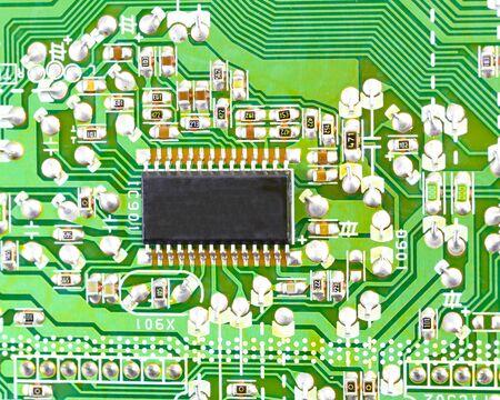 transistor: Circuit Board detalles del circuito registros condensador transistor instigado