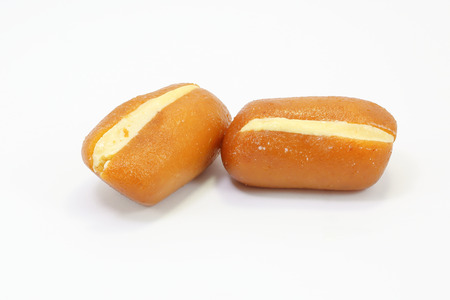 gulab: Khir toast Traditional Bangladesh Sweets on white background
