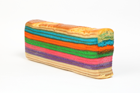 lapis: Colorful Rainbow Layer cake kuih lapis various flavor