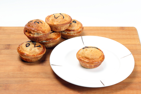 and savory: Small Savory Pie meat chicken beef mushroom stuffed