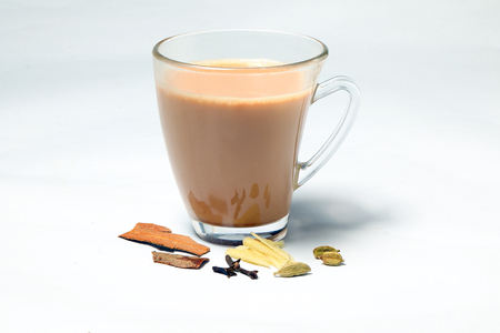 Hot Masala Tea drink spice ginger clove cinnamon cardamom