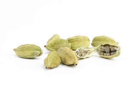 Kardamom aromatische Lebensmittel Zutaten Gewürz Standard-Bild - 93130671