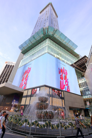 KUALA LUMPUR, MALAYSIA - DECEMBER 25, 2017: Bukit Bintang, Malay word for Start Hill have grown to business, shopping and entertainment hub since its humble beginning of 1960s.