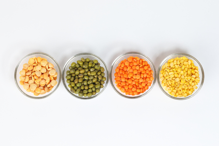 Masur Moong mung boot chana chickpea pea yellow red green dal lentil pulse bean split verity mix