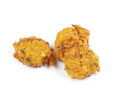 Piaju lentil onion Battered deep fried Zdjęcie Seryjne - 123328323