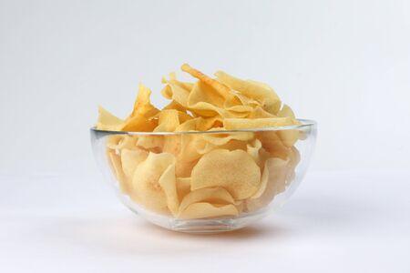 Chips de arrurruz de raíz de punta de flecha tradicionales para el año nuevo chino